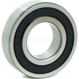 """BL Deep Groove Ball Bearings (Inch) 1607-2RS, Sealed, Light Duty, 0.4375"""" Bore, 0.9062"""" OD"""