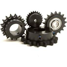 "TRITAN Sprocket 16A23, Metric, A Plate, 1"" Pitch, 24MM Bore, 23 Teeth"