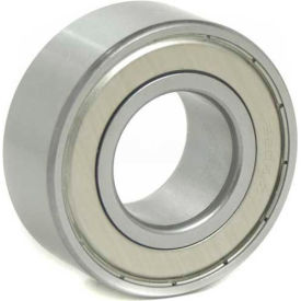 BL Double Row Angular Contact Bearings 5204-ZZ, 2 Metal Shields, Medium Duty, 20mm Bore, 47mm OD
