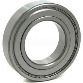 BL Deep Groove Ball Bearings (Metric) 6204-ZZ, 2 Metal Shields, Medium Duty, 20mm Bore, 47mm OD