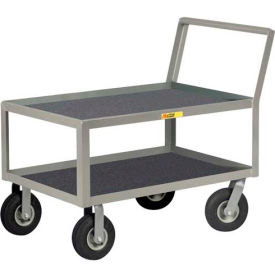 Little Giant® Low Deck Instrument Cart, Retaining Lip Top, 24 x 36