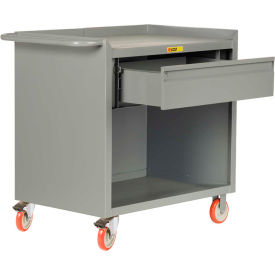"""Little Giant MC-2436-HDTL  36"""" W Mobile Bench Cabinet, Heavy-Duty Drawer"""
