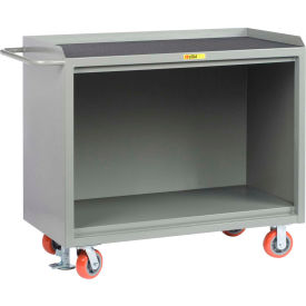 "Little Giant MM-2448-FL   48"" W Mobile Bench Cabinets, Floor Lock, Non-Slip Vinyl Top"
