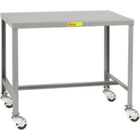 "Little Giant MT1-2448-24-3R Steel Top Machine Table, 24""D x 48""W x 24""H, 2000 lbs. Capacity"
