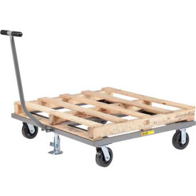 Little Giant® Pallet Dolly with T-Handle and Floor Lock PDT-4848-6PHFL, 48 x 48