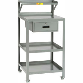 "Little Giant PSR-2224-LLDR Shop Desk, 22""' x 24"", Storage Drawer, 2000 lbs. Capacity"