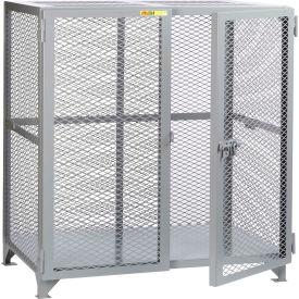 "Little Giant® Welded Storage Locker, Mesh Sides, 61""W x 39""D x 52""H"