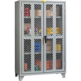 "Little Giant® High Visibility Storage Cabinet w/ 3 Adj. Shelves, 60""W x 26""D x 78""H"