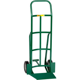 """Little Giant® Shovel Nose Hand Truck TF-360-8S - 8"""" Rubber with Foot Kick & Continuous Handle"""
