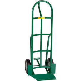 "Little Giant® Shovel Nose Hand Truck TF-364-10 - 10"" Rubber with Foot Kick & Loop Handle"