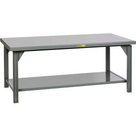 "Little Giant WX-3672-34 Extra Heavy-Duty Workbench, 36"" x 72"", 15,000 lbs. Capacity"