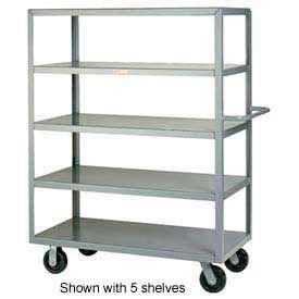 Little Giant® Multi-Shelf Truck 4M-3048-6PH, 4 Flush Shelves, 30 x 48