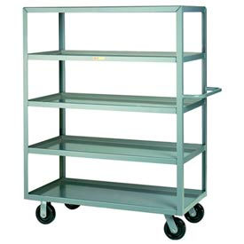Little Giant® Multi-Shelf Truck 5ML-2448-6PH, 5 Lip Shelves, 24 x 48