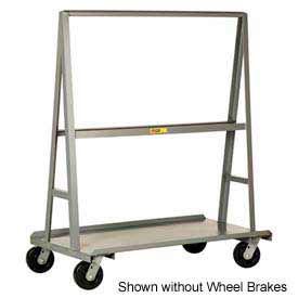"""Little Giant® """"A"""" Frame Sheet & Panel Truck AF2460-BK, 24 x 60 with Brake Wheels"""