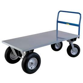Little Giant® High Deck Cushion Load Platform Truck BB3072B - 30 x 72 - 2500 Lb. Capacity