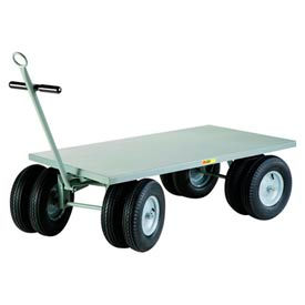 Little Giant® 8-Wheeler Wagon Truck CD-3660-16PFD-CR - Flush Deck - 36 x 60