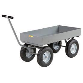 Little Giant® Deep Lip Wagon Truck CH-3060-X6-16P - 30 x 60 - Pneumatic Wheels - 3000 Lb. Cap.