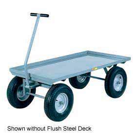 Little Giant® Wagon Truck CH-3660-12PFSD - Flush Deck -36 x 60 - Pneumatic Wheels - 2000 Lb.