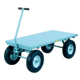 Little Giant® Wagon Truck CH-3660-16PFSD - Flush Deck -36 x 60 - Pneumatic Wheels - 3000 Lb.