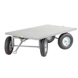Little Giant® Tracking Trailer CT-3660-16P 36x60 - Flush Edge - Pneumatic Wheels - 2000 Lb.