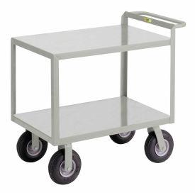 Little Giant® Instrument Cart w/Hand Guard, Flush Shelves, 24 x 36