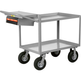 Little Giant® Instrument Cart w/Writing Shelf, Lip Shelves, 24 x 48