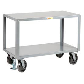 Little Giant® Heavy Duty Mobile Table IPG2436-8PHFLPL, 24 x 36, Floor Lock