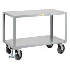 Little Giant® Heavy Duty Mobile Table IPG3672-8PHFLPL, 36 x 72, Floor Lock