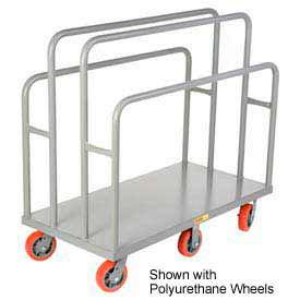 Little Giant® Lumber & Panel Cart LC-2448-6MR, 24 x 48, Mold-on Rubber Wheels