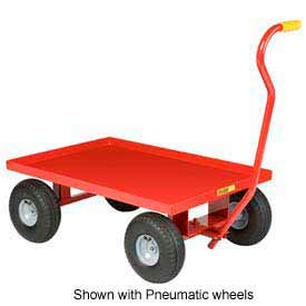 Little Giant® Wagon Truck, Steel Deck, 8 x 2.50 Rubber Wheel