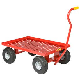Little Giant® Nursery Wagon Truck LWP-2436-10P Perforated Deck 10 x 3.50 Pneumatic Wheels