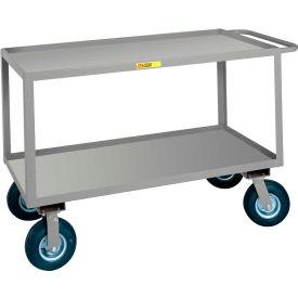 Little Giant® Flush Handle Instrument Cart, Lip Shelves, 24 x 36
