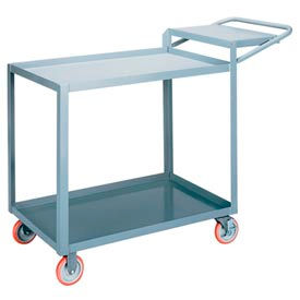 Little Giant® Order Picking Truck LGL-2436-WSBRK, Lip Shelves, 24 x 36