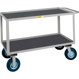 Little Giant® Flush Handle Instrument Cart Lip Non-Slip Vinyl Shelves 24x48