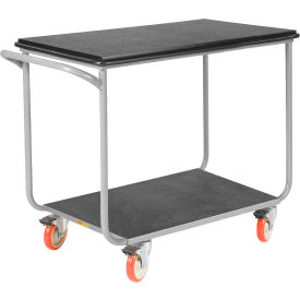 Little Giant® Mobile Instrument Cart, Tubular Frame 24x36 Poly Locking Whls