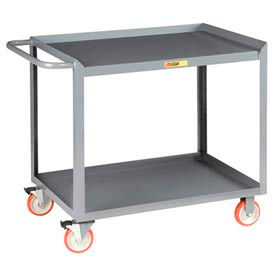 Little Giant® Mobile Workstation MW-2448-5TL, 2 Shelf, 24 x 48