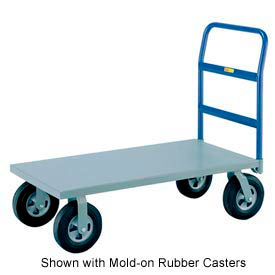 Little Giant® Heavy Duty Platform Truck NBB-3060-10P - 30 x 60 - Pneumatic Wheels - 1500 Lb.