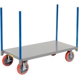 Little Giant® Pipe Stake Truck NBP-2448-8PUBK, 24 x 48, Polyurethane Wheels