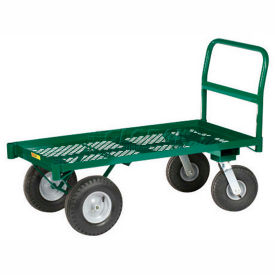 Little Giant® Raised Height Nursery Platform Wagon NP-2448-G - 24 x 48