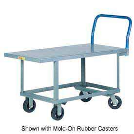 Little Giant® Work Height Platform Truck RNB-3060-6PY, 30 x 60, Polyurethane Wheels