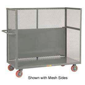 Little Giant® Drop-Shelf Truck S1-3060-6PY-DS, Slat Sides, 30 x 60