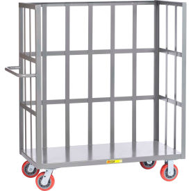 Little Giant® 3-Sided Bulk Truck S1-3060-6PY Slat-Type Sides 30x60 Polyurethane Wheels