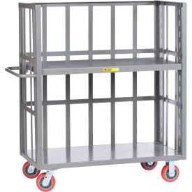 Little Giant® 3-Sided Adjustable Truck S2-A-3048-6PY, Slat Sides, 30 x 48