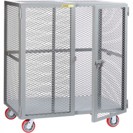 Little Giant® Mobile Storage Locker SCN-3072-6PPY, 30 x 72, Polyurethane Wheels