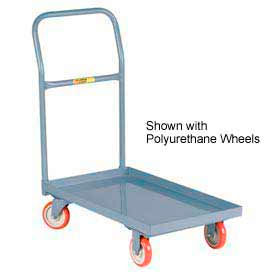 Little Giant® Steel Deck Platform Truck Lip Edge 24x36 Mold-on Rubber Whls