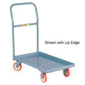 Little Giant® Steel Deck Platform Truck T-710-UPS - 24 x 36 - Flush Edge - Polyurethane