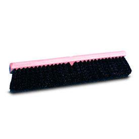 "36"" Medium Black Polypropylene Floor Brush Head - BWK20636 - Pkg Qty 12"