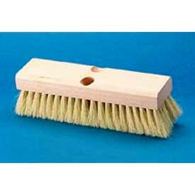 "10"" Hardwood Deck Brush Head W/ 2"" Tampico Bristles - BWK3210 - Pkg Qty 12"