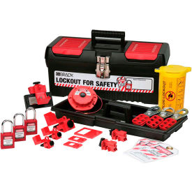 Brady®;Personal Electrical Lockout Toolbox Kit, 105961