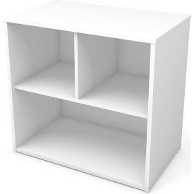 """Bestar® Storage Unit 2 Shelf 30-1/8""""W x 18-3/16""""D x 28-1/2""""H White"""